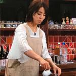 石田ゆり子の料理はポンコツ!?エプロン姿が可愛過ぎてヤバイ!!〔スナックあけぼの橋〕